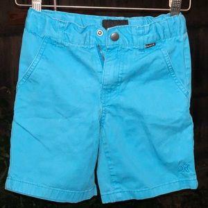 Hurley chinos board shorts little boys